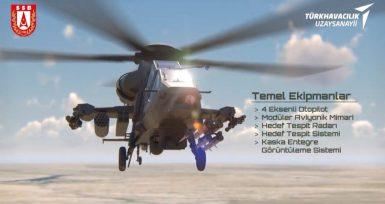 Yeni Milli Gözdemiz: Ağır Taarruz Helikopteri