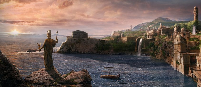 Sular Altında Kalan Bir Medeniyet Kayıp Cennet Atlantis
